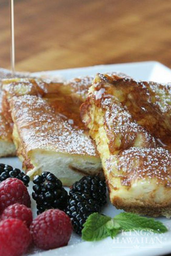 KING'S HAWAIIAN FAMOUS FRENCH TOAST