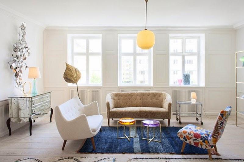 Ideas de cómo decorar con un taburete