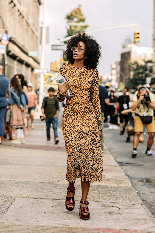 25 of the Coolest Animal Print Dresses — Street Style Inspiration