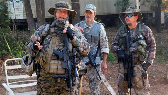 Várias milícias no estado americano da Geórgia estão se preparando para a agitação civil se Hillary Clinton ganhar na próxima semana.