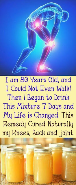 Rear Recipe That Will Heal Your Back, Joints & Legs Pain In Some Days !!!