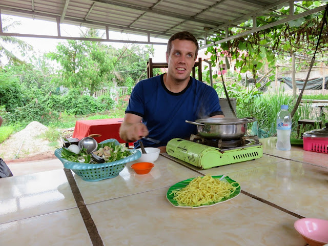 Steven, a former chef, and tour guide for Siem Reap Food Tours