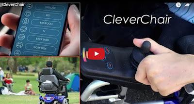 un hombre ruso maneja una silla de ruedas mediante la voz