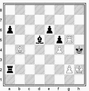 Posición de la partida de ajedrez Boric - Savalev (Correspondencia, 1967)