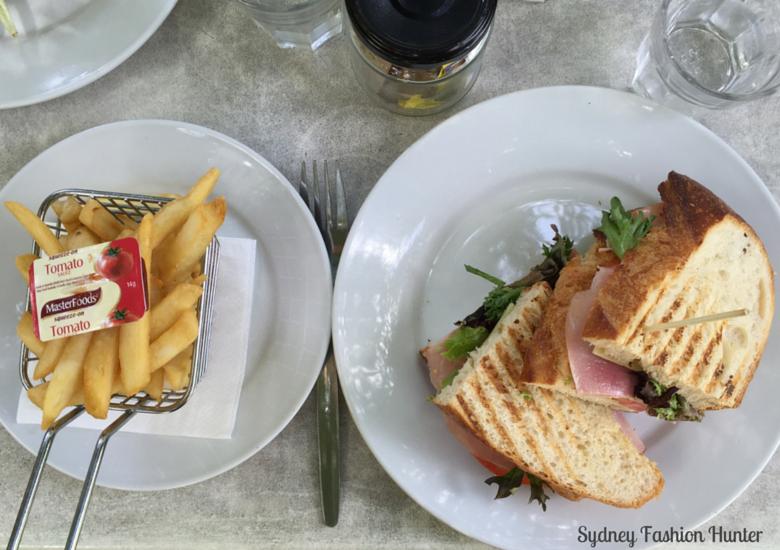 Oscars Ham Panini & Chips