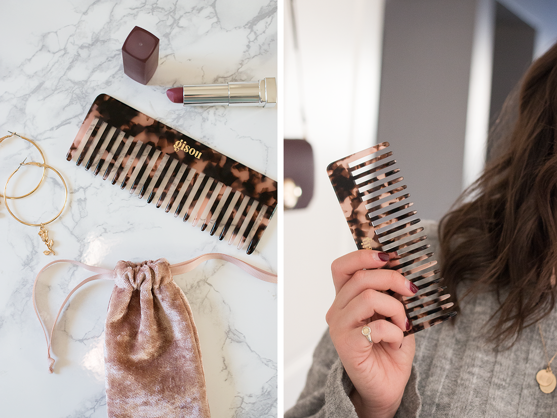 Gisou Launched a Comb & I'm Low-Key Obsessed With It