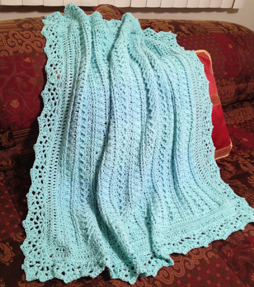 Mayflower Baby Blanket - Free Pattern
