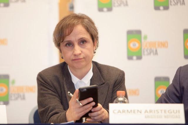 """""""¿De qué más es capaz, presidente siniestro, asesino?"""": Carmen  Aristegui"""