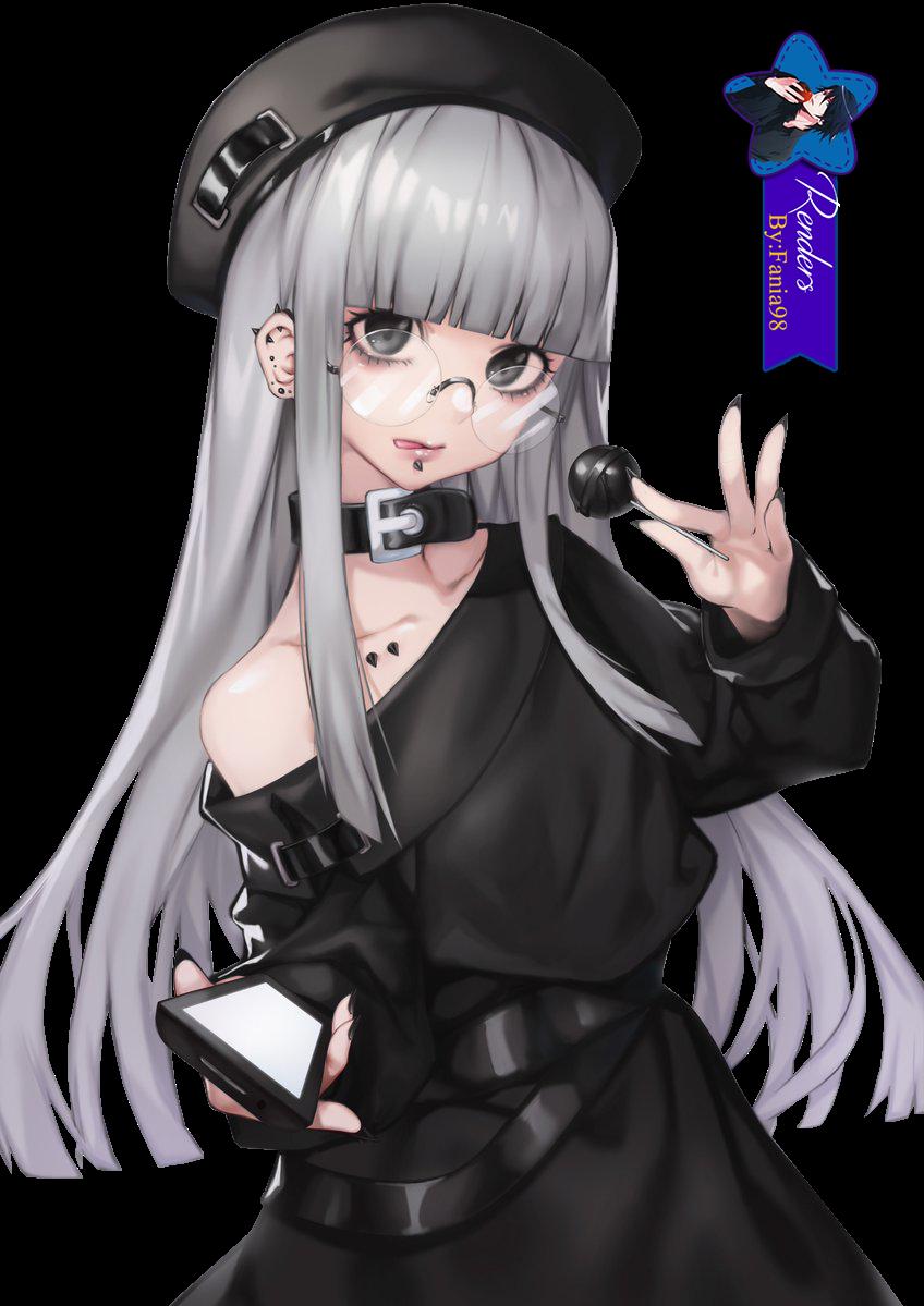 Megane Girl- Render
