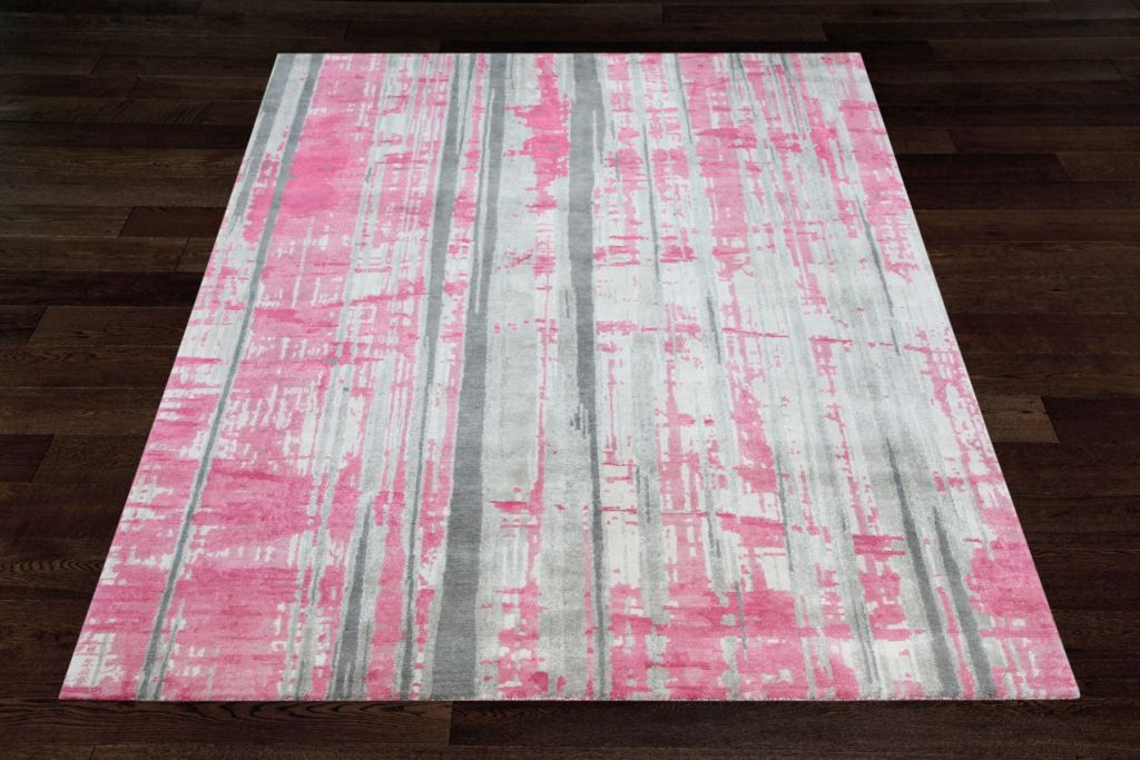 Pink And White Rug Rugs Ideas