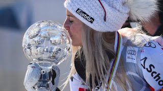 ESQUÍ ALPINO - Eva-Maria Brem superó a Rebensburg en un ajustado Globo de Cristal del Gigante