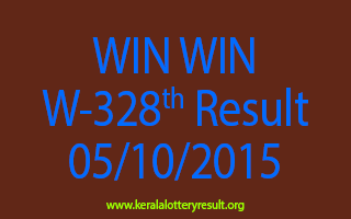 WIN WIN W 328 Lottery Result 5-10-2015