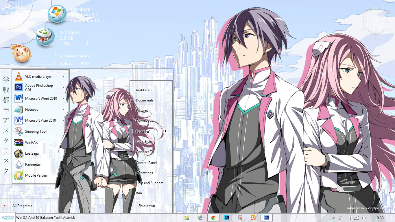 Visual styles 8sankarea win 8. 1 anime theme by hoangtush on deviantart.