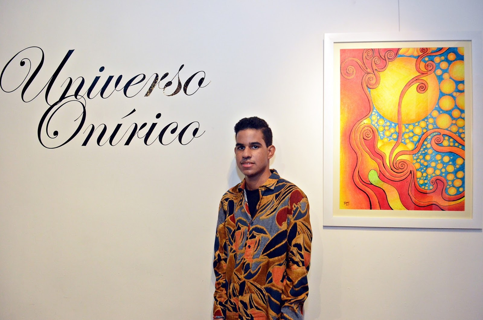 """Inauguran exposición  """"Universo onírico"""",  de Bryan Hutchinson Núñez"""
