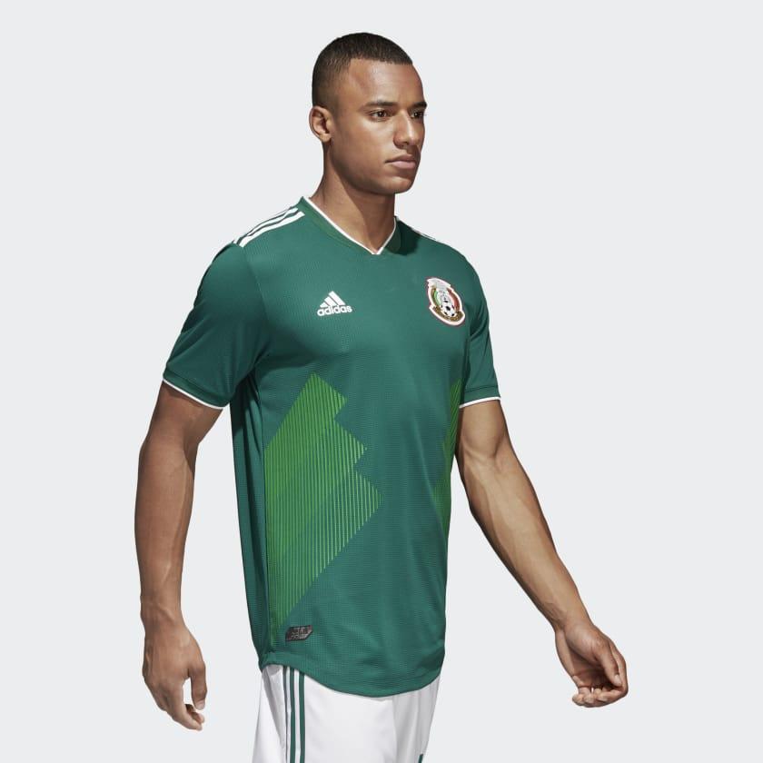 Kits Jersey Home Kandang Meksiko Piala Dunia 2018