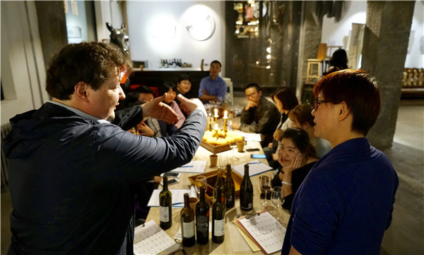 Casual drinkers cheer development of local wines