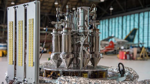 La NASA prueba con éxito un nuevo reactor nuclear diseñado para la exploración de la Luna y Marte