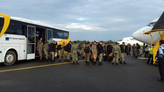 200 Personil Brimob Polda NTT dan Brimob Polda Sumut Siap Amankan Freeport