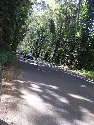 driving around Hawaiian islands