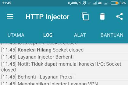 Trik Internet - Penyebab Dan Cara Mengatasi HTTP INJECTOR Yang Sunek (Susah Connect)