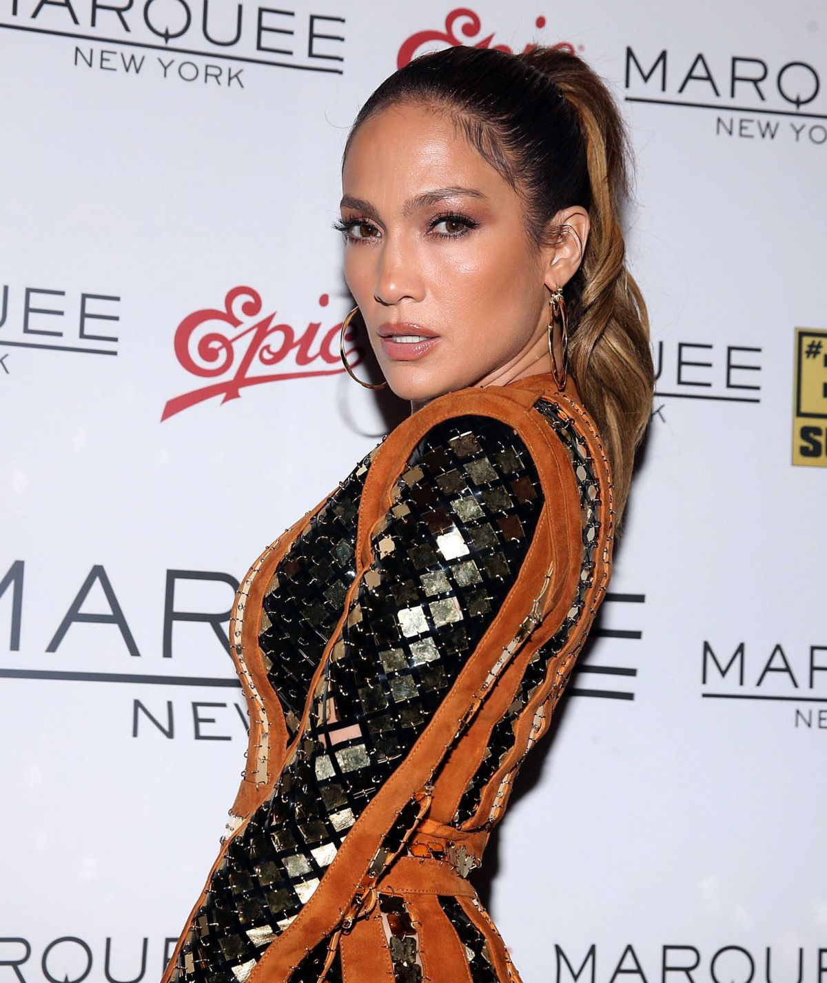 HD Photos of 'Shades of Blue' actress Jennifer Lopez at 2016 MTV VMA After Party in NYC