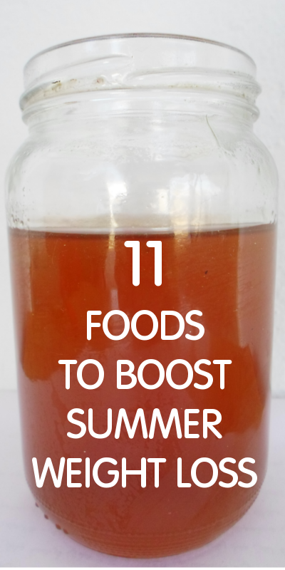 11 Foods To Boost Summer Weight Loss