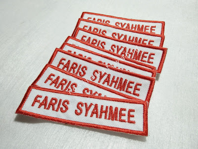 Tutorial Nametag Sulam