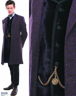 11th Doctor velvet waistcoat fabric
