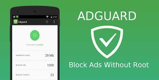 تطبيق Adguard Premium كامل معدل لازالة الاعلانات من تطبيقات والعاب الاندرويد