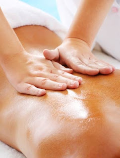 Person receiving Massage Therapy for better health
