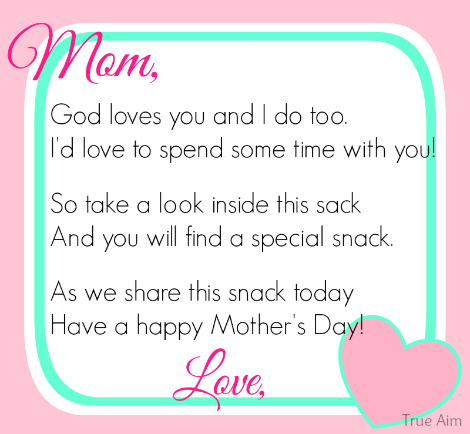 Mother's day poem for kids preschoolers daughter and son