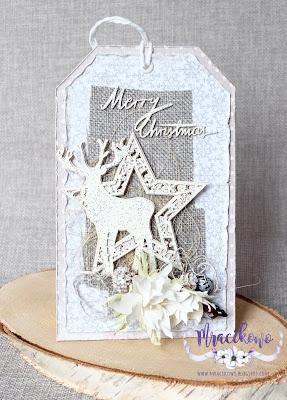"""Tag świąteczny – """"Merry Christmas"""""""