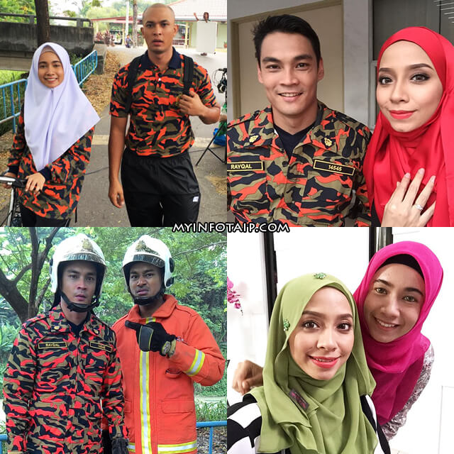 Drama Abang Bomba I Love You