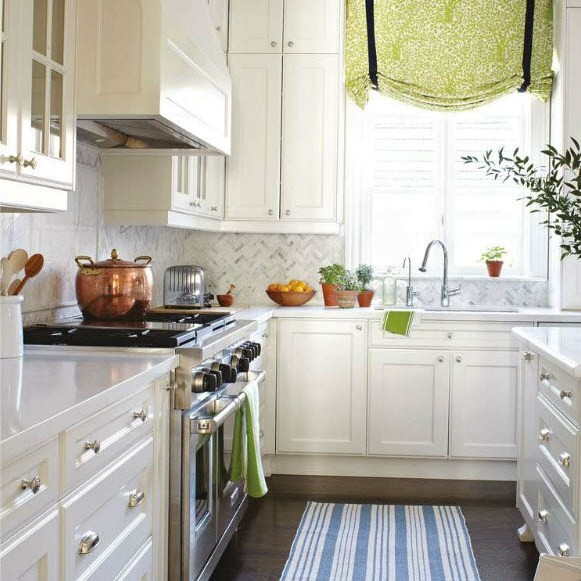In The Kitchen Use 2 X 3 Rugs Front Of Sink Larger Es