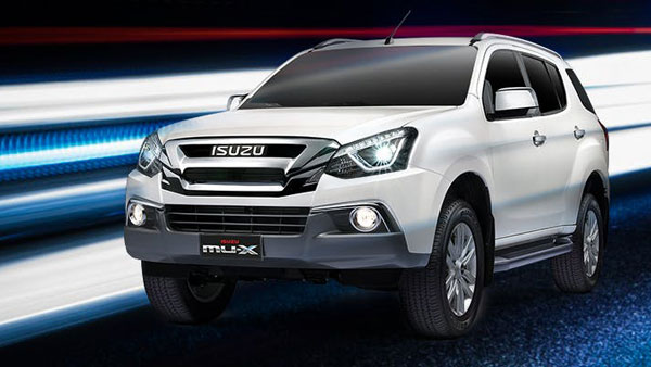 New 2018 Isuzu MU-X 1.9 litre diesel engine power