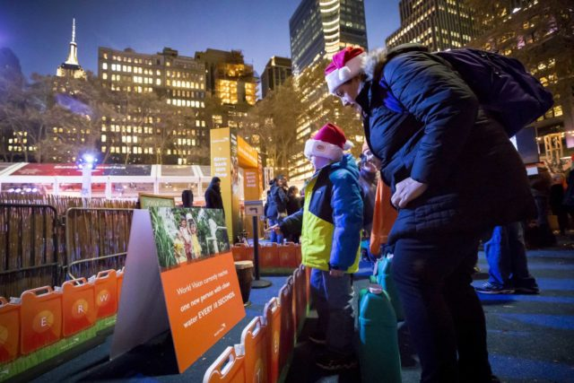 World Vision doing great #ShineBright works in NYC #ad #WVGiftCatalog