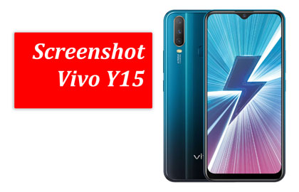 Cara screenshot Vivo Y15 2019