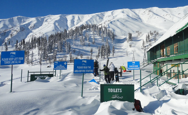 Xvlor.com Gulmarg is ski resort and the world's highest golf course in India