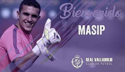 Jordi Masip chính thức gia nhập Valladolid