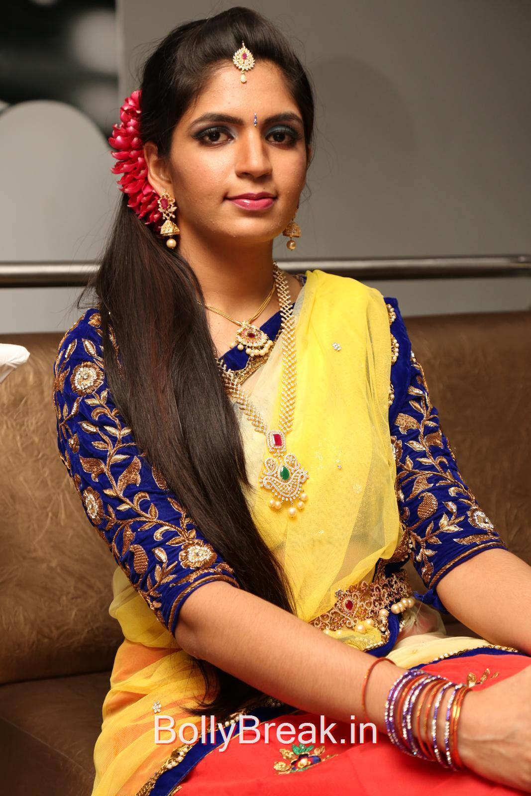 Tollywood Actress Anusha, Anusha Hot Pics from Bridal Dream Make up At Lakme Salon