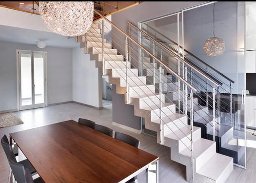 Fotos de escaleras escaleras rectas - Fotos en escaleras ...