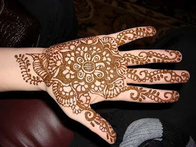 mehndi designs for hands step by step full hand