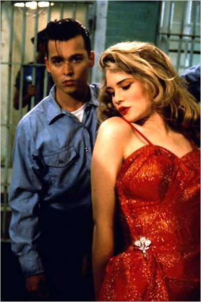 Johnny Depp et Amy Locane dans Cry-Baby de John Waters (1990)