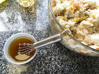 Ensalada de arroz marinera olla GM