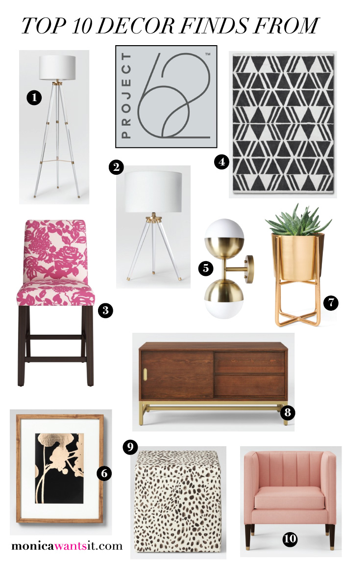Top 10 home decor picks from the new Project 62 line. | via monicawantsit.com
