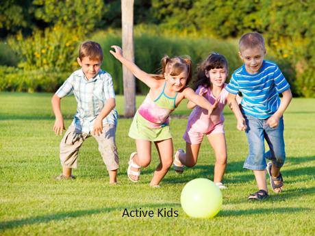 active healthy children