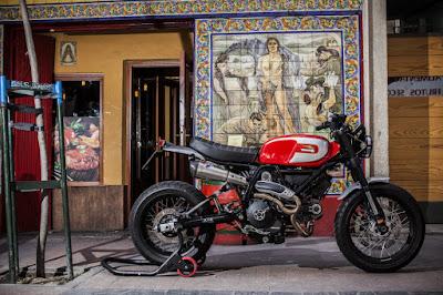 """Ducati Scrambler """"Regolarita"""" Custom by XTR Pepo"""