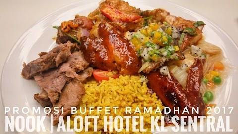 Promosi Buffet Ramadhan   Nook, Aloft Hotel KL Sentral