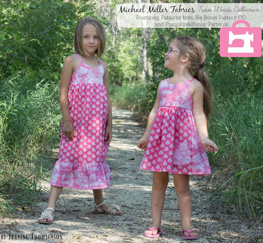Dance Party with Trade Winds by Michael Miller Fabrics and a GIVEAWAY!!!