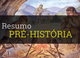 pré-história resumo pequeno geral períodos características neolítico paleolítico